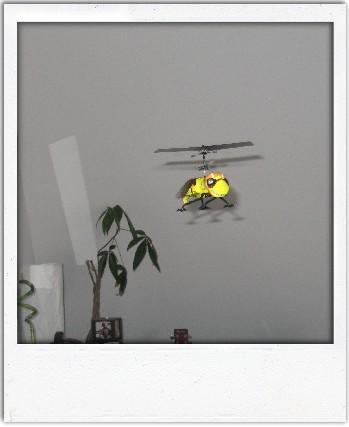 Pepi : hélicoptère radiocommandé